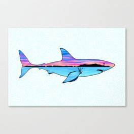 Channel Islands Great White Canvas Print