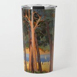 Viareggio woods and sea Travel Mug