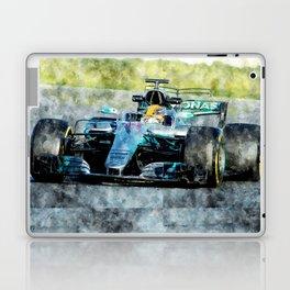 Lewis Hamilton 2017 Laptop & iPad Skin