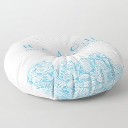 BEACH- Best escape anyone can have - Mix & Match with Simplicity of Life Floor Pillow