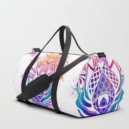 Hamsa Splatter Duffle Bag