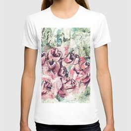 Abstract flowers 1 T-shirt