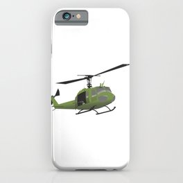 UH-1 Huey Helicopter iPhone Case