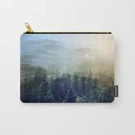 flipped forest Carry-All Pouch