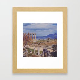 Ancient Corinth Framed Art Print