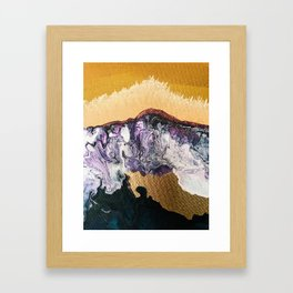 TIDAL WAVE   Abstract acrylic art by Natalie Burnett Art Framed Art Print