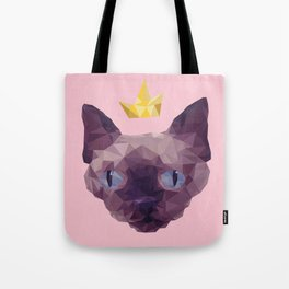 King Cat. Tote Bag