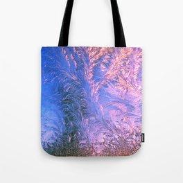 Ice Fractals Tote Bag