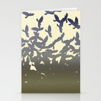 flight Stationery Cards featuring Flight by NKlein Design