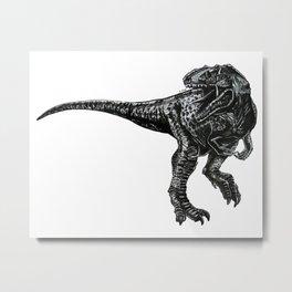 The Dinosaur Metal Print