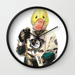 Mighty Duck Wall Clock
