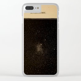 Astronomy for the Use of Schools and Academies (1882) - Star Cluster in the Constellation Centaurus Clear iPhone Case