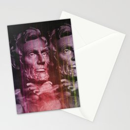 Abraham Lincoln colored Stationery Cards