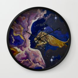 Aslan Is On the Move Wall Clock