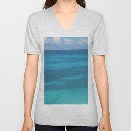 Caribbean Sea Unisex V-Neck