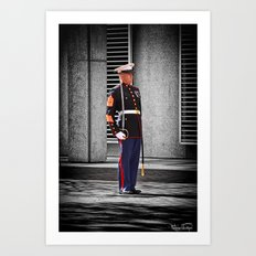 One Nation Under God.... Art Print