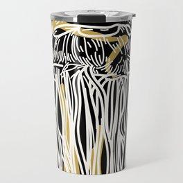 Electric Gold Jellyfish Duo Travel Mug