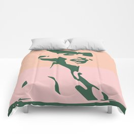 Too Funky Tribute Contemporary Art Comforters