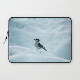 Grey Jay in The Snow Laptop Sleeve