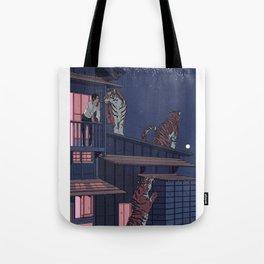 Tiger Playhouse Tote Bag