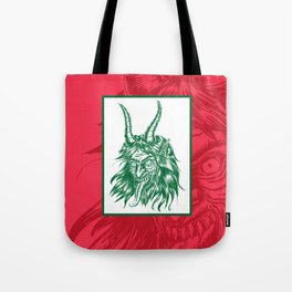 Here Comes Krampus! Tote Bag