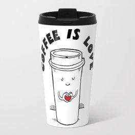 Coffee is Love Travel Mug