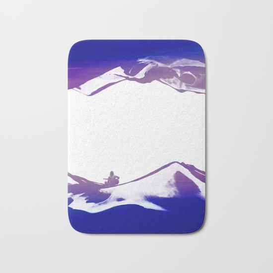 Purple Song of isolation Bath Mat
