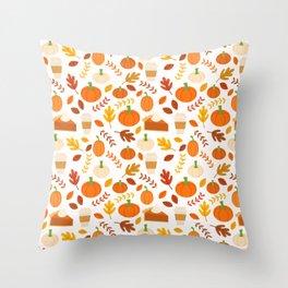 Everything Autumn Throw Pillow