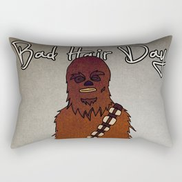 bad hair day no:3 / Chewbacca  Rectangular Pillow