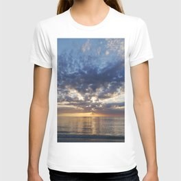 Sunset Over Clearwater Beach T-shirt