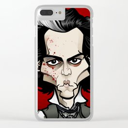 Sweeney Clear iPhone Case
