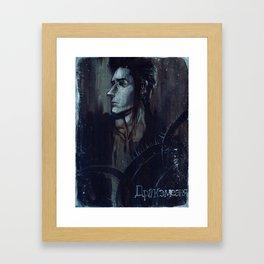 IMBER Framed Art Print