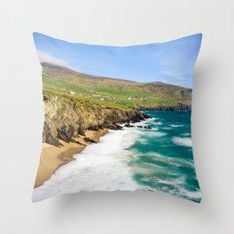 Slea Head Beach | Ireland (RR 226) Throw Pillow