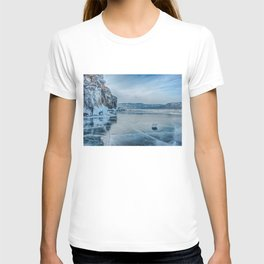 Lake Baikal. March T-shirt