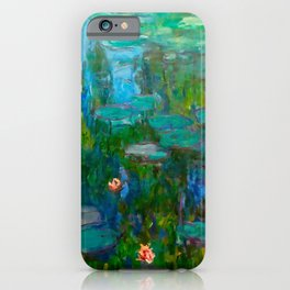 Water Lilies by Monet iPhone Case