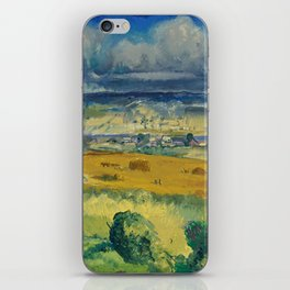 "George Wesley Bellows ""Clouds and Meadow"" iPhone Skin"