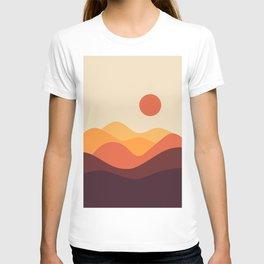 Geometric Landscape 21 T-shirt