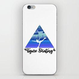 Figure Skating Female Skater Gift iPhone Skin