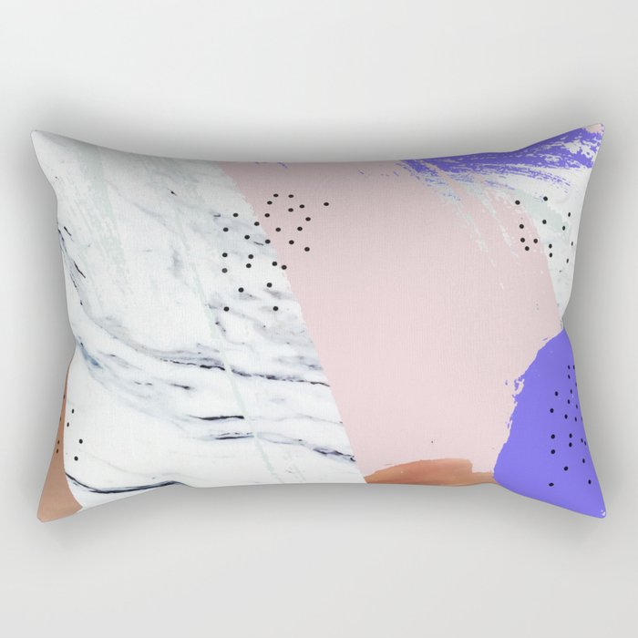 Unfolding Significance #society6 #decor #buyart Rectangular Pillow
