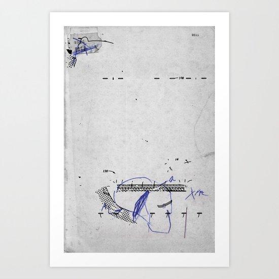 VUOTO PER PIENO 8 Art Print