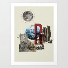 The Great Purge  Art Print
