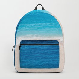 Alone On The Beach Backpack