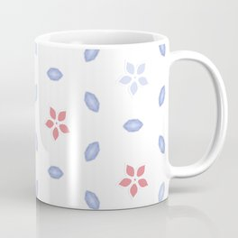 Pastel color Multi pattern design Coffee Mug