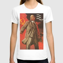 Lenin will live forever! 1967 communist poster about the Soviet Union T-shirt