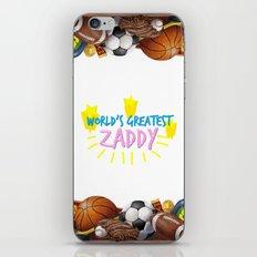 Zaddy iPhone & iPod Skin