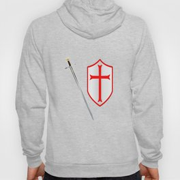 Crusaders Sword and Shield Hoody