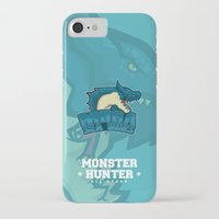 monster hunter iPhone & iPod Cases featuring Monster Hunter All Stars - Moga Sea Dogs by Bleached ink