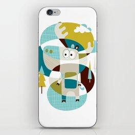 Moose on the loose iPhone Skin