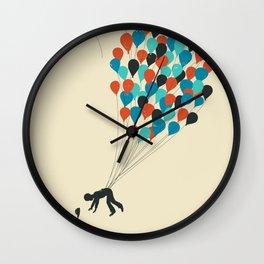 Growing Up Wall Clock