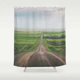 All Roads Lead Home Shower Curtain